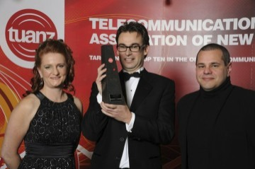 vWorkApp job dispatch software wins 2011 TUANZ mobile application of the year